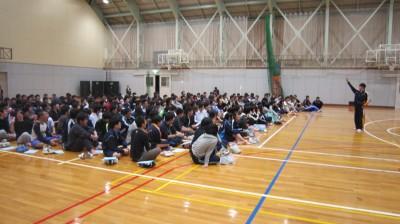 寮生会総会と新入生歓迎会